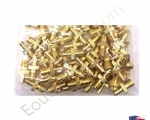 NEW Lots 50X 50PCS SMA Female to TS9 Male RF Coax Adapter Converter Connector for Antenna Golden Color