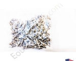 NEW Lots 50X 50PCS SMA Female to TS9 Male RF Coax Adapter Converter Connector for Antenna Silver Color